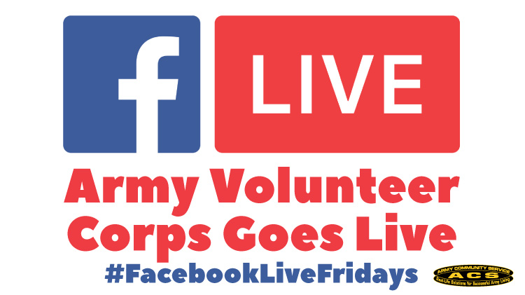 Facebook Friday with the Army Volunteer Corps!