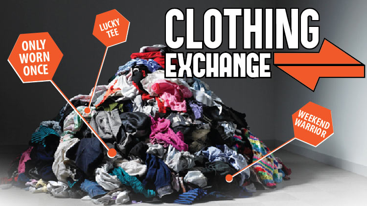 Group Fitness Clothing Exchange!