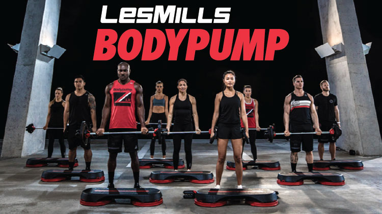 Group Fitness Body Pump!