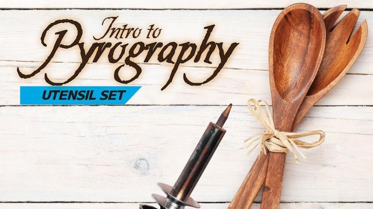 Intro to Pyrography: Spoon Set