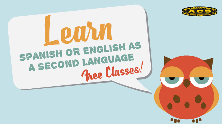 Learn Spanish or English as a second language!!
