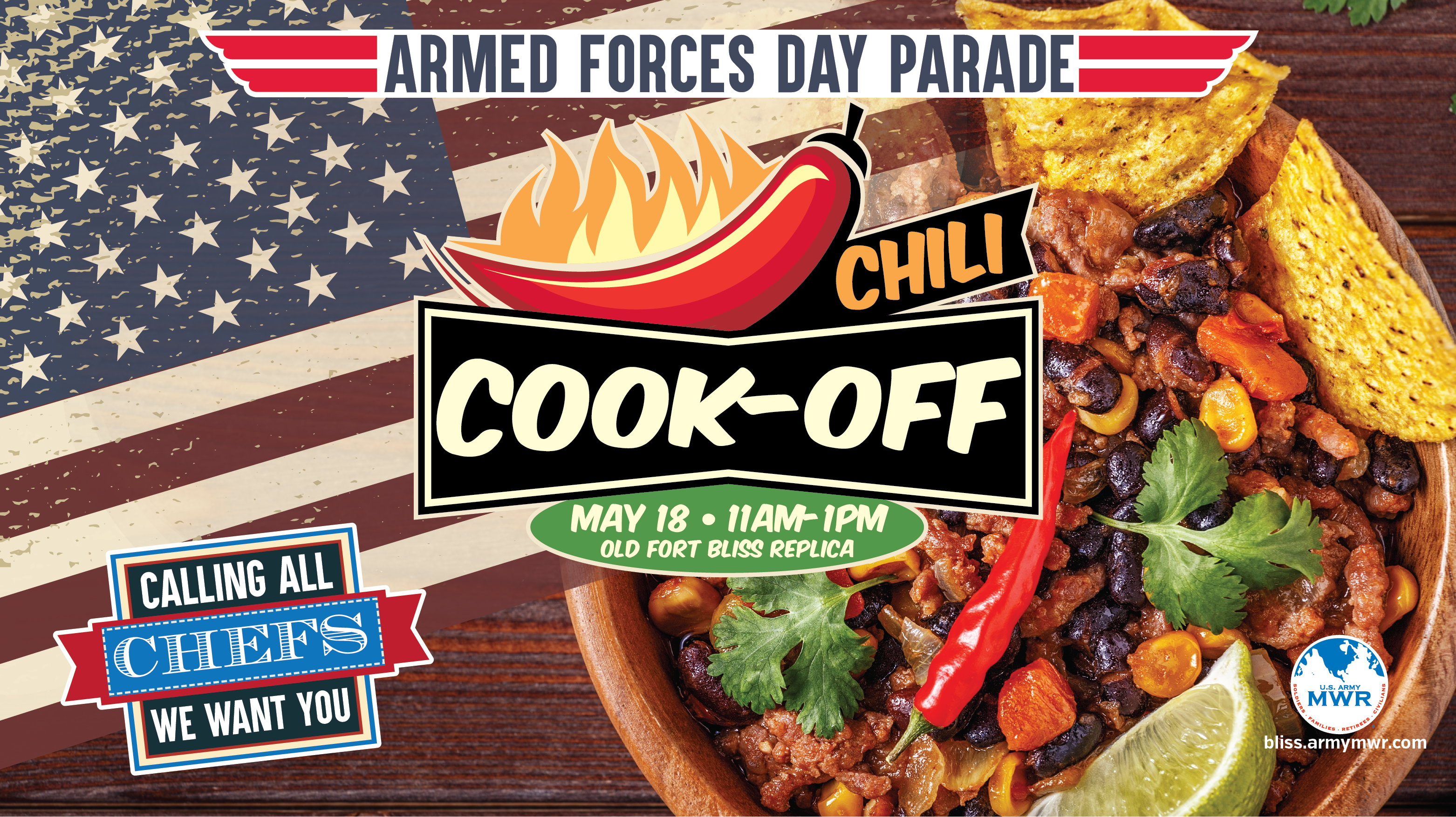 Armed Forces Day Chili Cook-Off