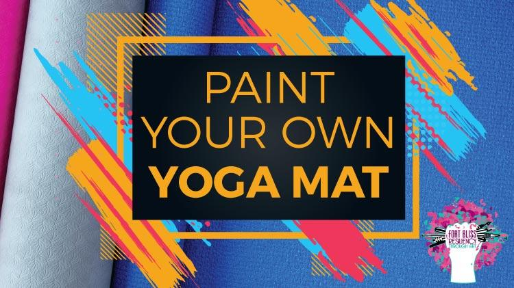Paint your own Yoga Mat!