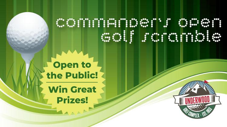 Commander's Open Golf Scramble