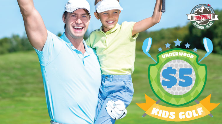 Kids Golf for $5