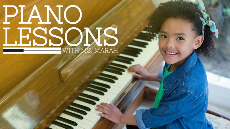 Piano Lessons with Ms. Marah