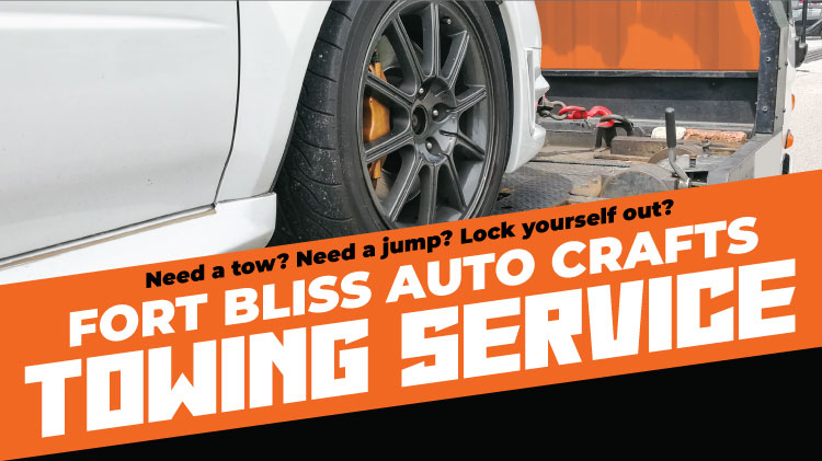Fort Bliss Auto Crafts Towing Service