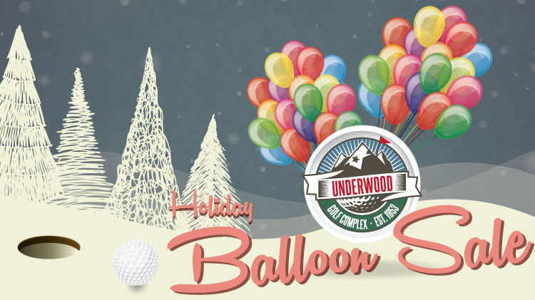 Holiday Balloon Sale