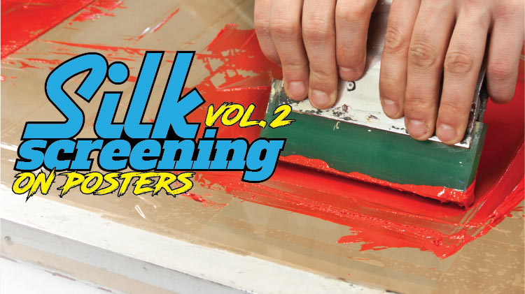 Silk Screening on Posters Vol. 2