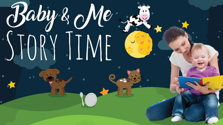 Mickelsen Community Library Baby & Me Story Time