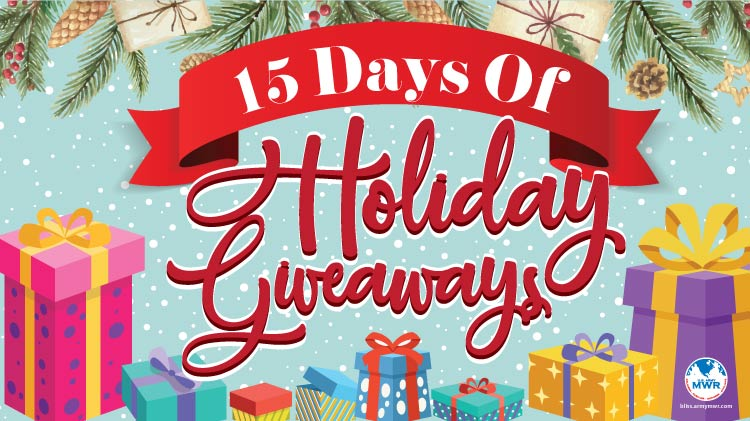 15 Days of Holiday Giveaways!