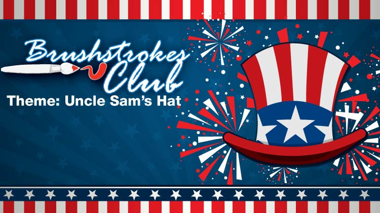 Brushstrokes Club: Uncle Sam's Hat