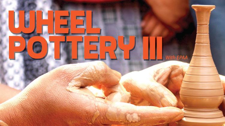 Wheel Pottery III with Katie Gelinas