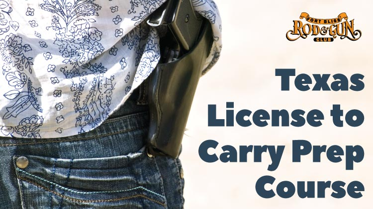 Texas License to Carry Prep Course