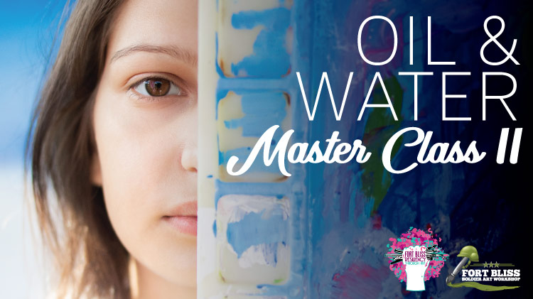 Art & Hobby Shop: Oil and Watercolor Painting Master Class