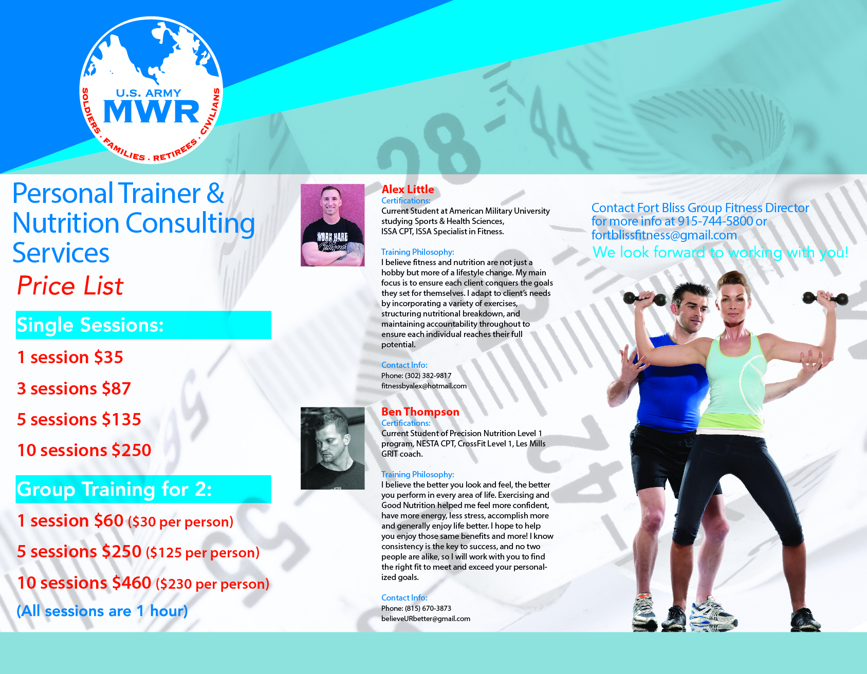 issa personal training certification military