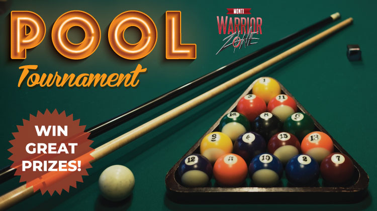 Monti Warrior Zone Pool Tournament