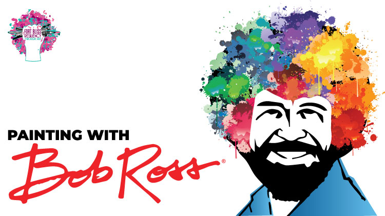 Art & Hobby Shop: Painting with Bob Ross!