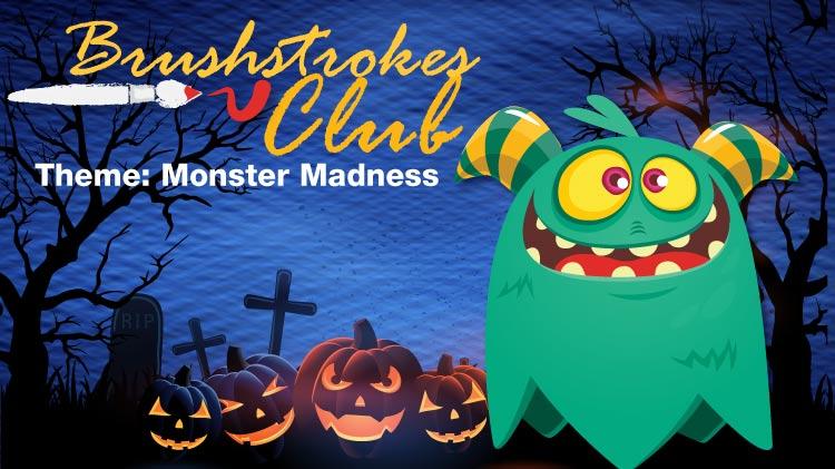 Brushstrokes Club: Monster Madness!
