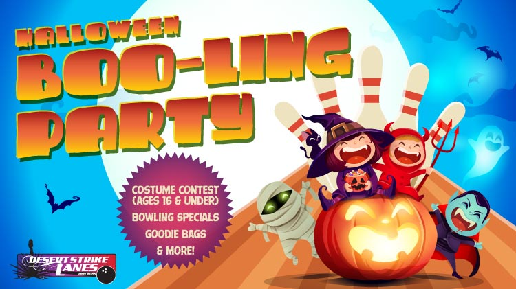 DSL: Halloween Boo-ling Party